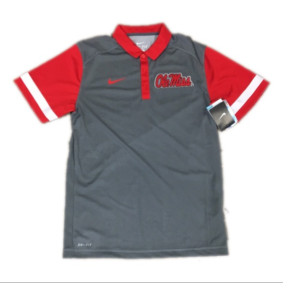 6d742b7a Nike Shirts | Ole Miss Mississippi Rebels Drifit Polo Small | Poshmark